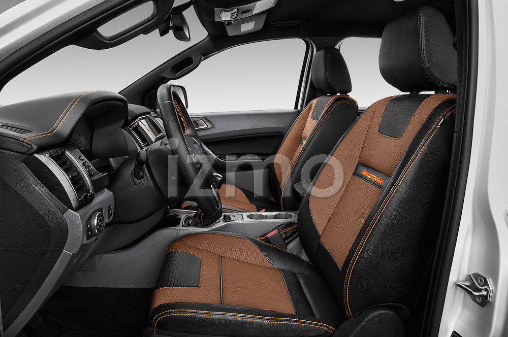 Front seat view of 2016 Ford Ranger Wildtrak 4 Door Pickup Front Seat  car photos
