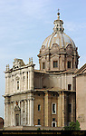 Santi Luca e Martina Pietro Cortona 1664 Forum Romanum Rome