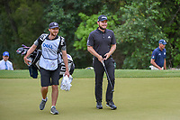 Tyrrell Hatton (ENG) smiles as he sees his ball on the green on 4 during day 4 of the WGC Dell Match Play, at the Austin Country Club, Austin, Texas, USA. 3/30/2019.<br /> Picture: Golffile | Ken Murray<br /> <br /> <br /> All photo usage must carry mandatory copyright credit (© Golffile | Ken Murray)