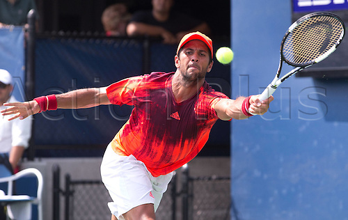 31.08.2015. New York, NY, USA.  Fernando Verdasco (ESP)  US Open 2015 Grand Slam ITF ATP Tennis Mens 1st round Flushing Meadows 31st August 2015.