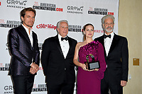 Michael Shannon, Amy Adams, Rick Nicita &amp; Mark Badagliacca at the American Cinematheque 2017 Award Show at the Beverly Hilton Hotel, Beverly Hills, USA 10 Nov. 2017<br /> Picture: Paul Smith/Featureflash/SilverHub 0208 004 5359 sales@silverhubmedia.com