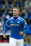 St Johnstone FC Season 2010-11.Marcus Haber.Picture by Graeme Hart..Copyright Perthshire Picture Agency.Tel: 01738 623350  Mobile: 07990 594431