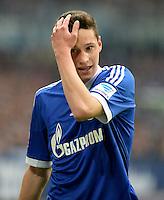 FUSSBALL   1. BUNDESLIGA   SAISON 2012/2013    31. SPIELTAG FC Schalke 04 - Hamburger SV          28.04.2013 Julian Draxler (FC Schalke 04)