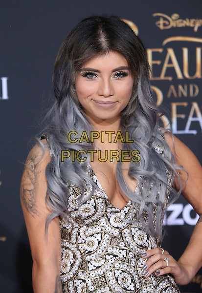 02 March 2017 - Hollywood, California - Kirstin Maldonado. Disney's &quot;Beauty and the Beast' World Premiere held at El Capitan Theatre.   <br /> CAP/ADM/FS<br /> &copy;FS/ADM/Capital Pictures