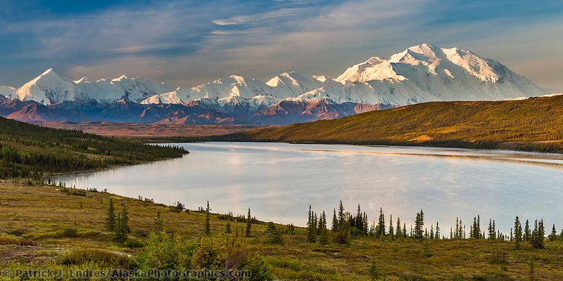 Denali and Wonder Lake, Denali National Park, Alaska.