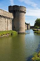 Europe/France/Pays de la Loire/44/Loire-Atlantique/Parc Naturel Régional de Brière/Guérande: Remparts de la Cité Médiévale, boulevard du Nord