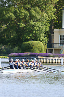 Race: 157  O.MasH.8+  Upper Thames Rowing Club vs Weybridge Rowing Club<br /> <br /> Henley Masters Regatta 2019 - Saturday<br /> <br /> To purchase this photo, or to see pricing information for Prints and Downloads, click the blue 'Add to Cart' button at the top-right of the page.