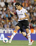 Valencia's Ricardo Costa during La Liga match.September 1,2013. (ALTERPHOTOS/Acero)