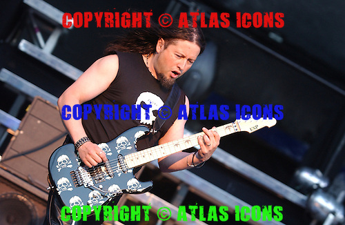 Queensryche;  Michael Wilton; Live, In New York City, On 6-17-2005<br /> Photo Credit: Eddie Malluk/Atlas Icons.com