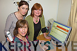 ONLINE: Black Valley residents who have been connected to a new phone and internet system this week, l-r: Siobhan Tangney, Delia Casey, Debbie O'Sullivan.