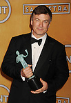 LOS ANGELES, CA - JANUARY 27: Alec Baldwin poses at the 19th Annual Screen Actors Guild Awards at The Shrine Auditorium on January 27, 2013 in Los Angeles, California.