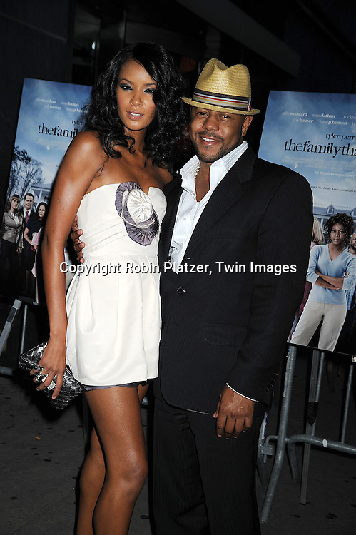 """Rockmond Dunbar and guest..arriving at The Special Screening of """"Tyler Perry's The Family That Preys"""" on September 8, 2008 at The AMC Loews Lincoln Center in New York City. ....Robin Platzer, Twin Images"""