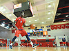 Kassoum Yakwe #14 of of St. John's University men's basketball practices after Media Day at Lou Carnesecca Arena in Jamaica, NY on Thursday, Oct. 27, 2016.