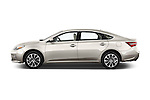 Car Driver side profile view of a 2016 Toyota Avalon XLE 4 Door Sedan Side View