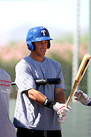 Michael Olt - Texas Rangers - 2010 Instructional League.Photo by:  Bill Mitchell/Four Seam Images..