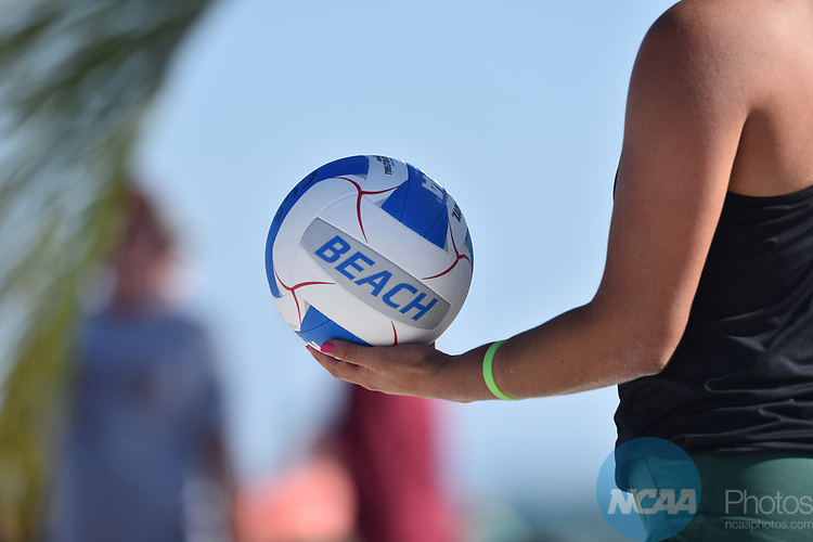 GULF SHORES, AL - MAY 07: The University of Southern California takes on Pepperdine University during the Division I Women's Beach Volleyball Championship held at Gulf Place on May 7, 2017 in Gulf Shores, Alabama. (Photo by Stephen Nowland/NCAA Photos via Getty Images)