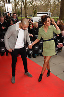 Marvin &amp; Rochelle Humes arriving for TRIC Awards 2018 at the Grosvenor House Hotel, London, UK. <br /> 13 March  2018<br /> Picture: Steve Vas/Featureflash/SilverHub 0208 004 5359 sales@silverhubmedia.com