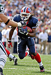 30 September 2007: Buffalo Bills rookie running back Marshawn Lynch in action against the New York Jets at Ralph Wilson Stadium in Orchard Park, NY. The Bills defeated the Jets 17-14 for their first win of the 2007 season...Mandatory Photo Credit: Ed Wolfstein Photo