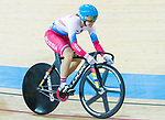 Anastasiia Voinova of Russia competes in the Women's Keirin - Repechages during the 2017 UCI Track Cycling World Championships on 16 April 2017, in Hong Kong Velodrome, Hong Kong, China. Photo by Chris Wong / Power Sport Images