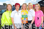 CHARITY CYCLE: Enjoying the Kerry Emergency Services Charity Cycle at the Kerins O'Rahillys club, Tralee on Saturday l-r: Maura O'Connell, Caroline Martin, Sheila McCarthy, Tina Donovan and Una Tangney.