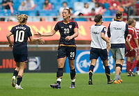 Abby Wambach, Aly Wagner.  The USWNT defeated Canada, 1-0, at Suwon World Cup Stadium in Suwon, South Korea, to win the Peace Queen Cup.