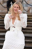 "Ellie Goulding<br /> arriving for the world premiere of ""Our Planet"" at the Natural History Museum, London<br /> <br /> ©Ash Knotek  D3491  04/04/2019"