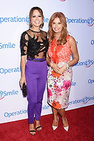 SANTA MONICA, CA - SEPTEMBER 09:  Actress-dancer Brooke Burke-Charvet (L) actress Roma Downey attend Operation Smile's Annual Smile Gala at The Broad Stage on September 9, 2017 in Santa Monica, California.<br /> CAP/ROT<br /> &copy;ROT/Capital Pictures