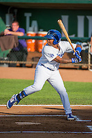 Willie Calhoun (17) of the Ogden Raptors at bat against the Grand Junction Rockies in Pioneer League action at Lindquist Field on July 6, 2015 in Ogden, Utah.Ogden defeated Grand Junction 8-7.  (Stephen Smith/Four Seam Images)