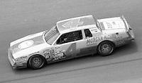 Mark Martin 4 action Firecracker 400 at Daytona International Speedway in Daytona Beach, FL on July 4, 1983. (Photo by Brian Cleary/www.bcpix.com)