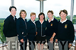 At the Ladies Golf Challenge, Intermediate and Junior cups at Castleisland Golf Club on Sunday were Killarney Golf Club's Jane Dwyer, Mary Lacey, Kathleen Wrenn, Mary Cronin, Bridie Brosnan and Ursula Daly