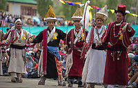 Costumes and jewelry of the Marul ethnic group in Ladakh