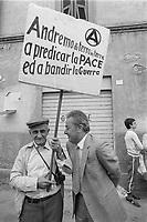 - peace march Perugia Assisi (september 1981)....- marcia della pace Perugia Assisi  (settembre 1981)..