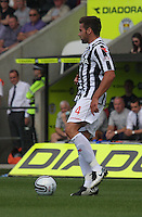 Darren McGregor in the St Mirren v Hibernian Clydesdale Bank Scottish Premier League match played at St Mirren Park, Paisley on 18.8.12.