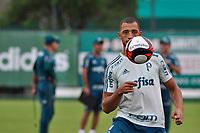 SÃO PAULO, SP, 24.03.2017 – FUTEBOL-PALMEIRAS - Vitor Hugo durante treino na Academia de Futebol na Barra Funda,zona oeste de São Paulo, na tarde desta sexta-feira (24).(Foto: Renato Gizzi/Brazil Photo Press)