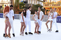 Lemar &amp; Melody Le Moal, Brooke Vincent &amp; Matej Silecky, Max Evans &amp; Ale Izquierdo, Donna Air &amp; Mark Hanretty at the &quot;Dancing on Ice&quot; launch photocall at the Natural History Museum, London, UK. <br /> 19 December  2017<br /> Picture: Steve Vas/Featureflash/SilverHub 0208 004 5359 sales@silverhubmedia.com