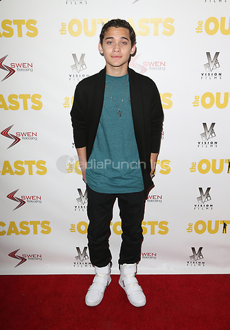 """WESTWOOD, CA - April 13: Robert Ochoa, At Premiere Of Swen Group's """"The Outcasts"""" At The Landmark Regent  In California on April 13, 2017. Credit: FS/MediaPunch"""