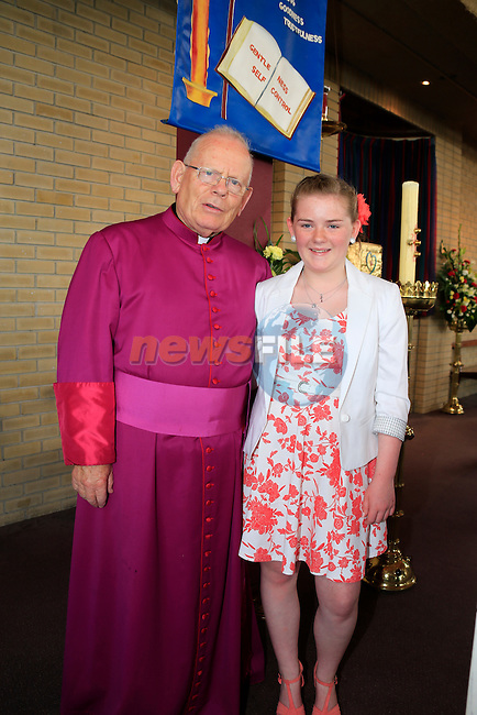 Hannah Corcoran at Confirmation in Holy Family Church.<br /> Picture: www.newsfile.ie