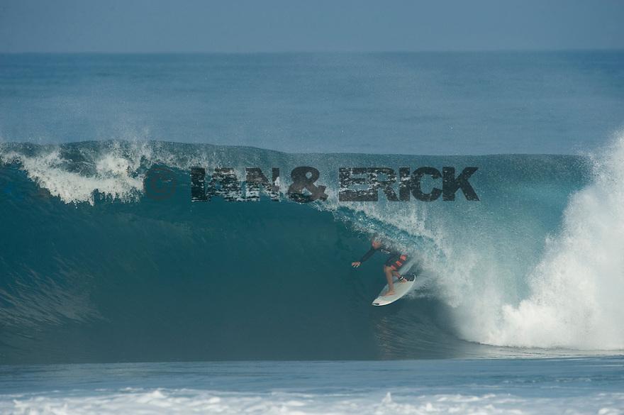 Ryan Hipwood (AUS) at Backdoor on the Northshore of Oahu in Hawaii.