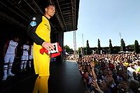 EMMEN - Opendag FC Emmen , Oude Meerdijk, seizoen 2018-2019, 15-07-2018,  FC Emmen doelman Peter van der Vlag