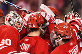 - The Boston University Terriers defeated the Boston College Eagles 3-1 in their opening Beanpot game on Monday, February 6, 2017, at TD Garden in Boston, Massachusetts.