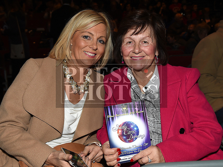 Trina Flynn and Betty Mullen pictured at Duleek/Bellewstown Strictly Come Dancing at the TLT. Photo:Colin Bell/pressphotos.ie