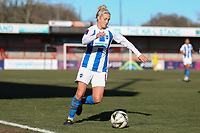 Kirsty Barton of Brighton & Hove Albion Women during Brighton & Hove Albion Women vs Manchester United Women, SSE Women's FA Cup Football at Broadfield Stadium on 3rd February 2019