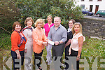 Mena Nolan, president of the Tralee branch of the Soroptimists presenting a cheque for ?2,000 to Chris O'Donoghue, Director of the Kerry Branch of the Samaritans on Thursday. Pictured from left: Angela Deenihan (member of the Tralee Soroptimists), Joan Costello (President of the Mounthawk Bridge Club), Susan Costello (Costello's Pharmacy, sponsor of the Bridge Night), Chris O'Donoghue (Director of the Kerry Branch of the Samaritans), Karen Ivers Keohane (member of the Tralee Soroptimists) and Colette Shortt (member of the Tralee Soroptimists).