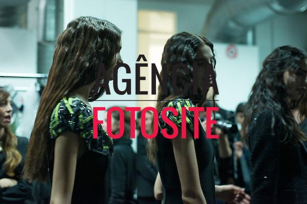Milao, Italia &ndash; 02/2014 - Desfile de Giorgio Armani durante a Semana de moda de Milao - Inverno 2014. <br /> Foto: FOTOSITE