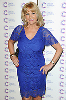 Carol Wright arriving at James' Jog On To Cancer Event, Kensington Roof Gardens, London. 09/04/2014 Picture by: Alexandra Glen / Featureflash