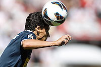 02.09.2012 SPAIN -  La Liga 12/13 Matchday 3rd  match played between Rayo Valelcano vs Sevilla Futbol Club (0-0) at Campo de Vallecas stadium. The picture show Jesus Navas Gonzalez (Spanish Midfielder of Sevilla F.C.)