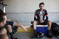 Tom Dumoulin (NLD/Giant-Alpecin) recovering after the TTT<br /> <br /> Elite Men&rsquo;s Team Time Trial<br /> UCI Road World Championships Richmond 2015 / USA
