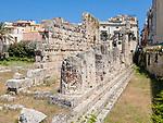 Unearthed Greek Ruins, Ortigia, Sicily
