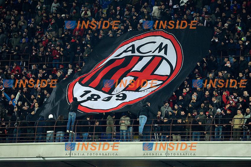Tifosi Milan<br /> Milano 28-11-2015 Stadio Giuseppe Meazza - Football Calcio Serie A Milan - Sampdoria. Foto Giuseppe Celeste / Insidefoto