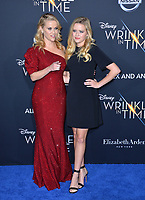 Reese Witherspoon &amp; Ava Phillippe at the premiere for &quot;A Wrinkle in Time&quot; at the El Capitan Theatre, Los Angeles, USA 26 Feb. 2018<br /> Picture: Paul Smith/Featureflash/SilverHub 0208 004 5359 sales@silverhubmedia.com